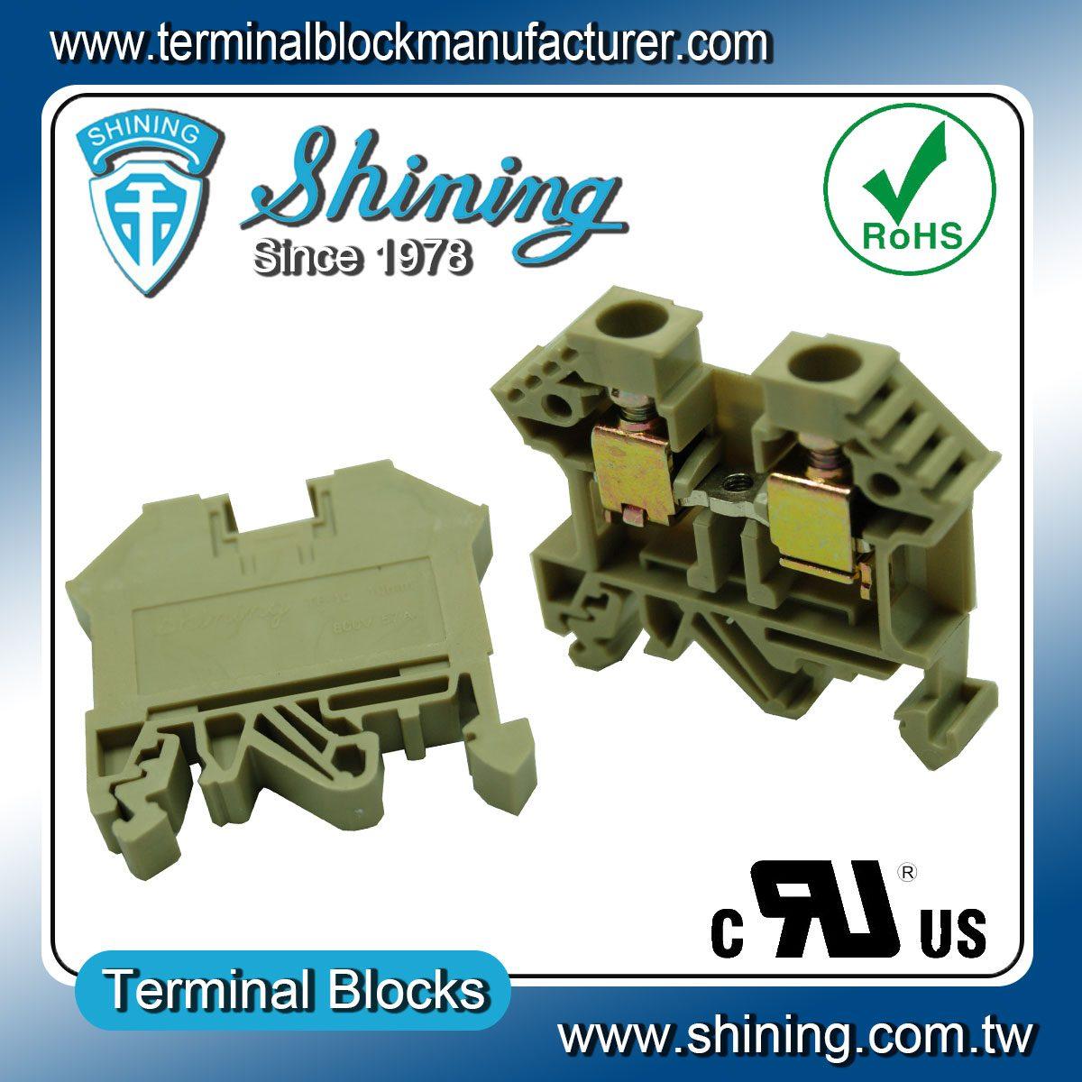 taiwan tf 10 european 10mm feed through terminal block. Black Bedroom Furniture Sets. Home Design Ideas