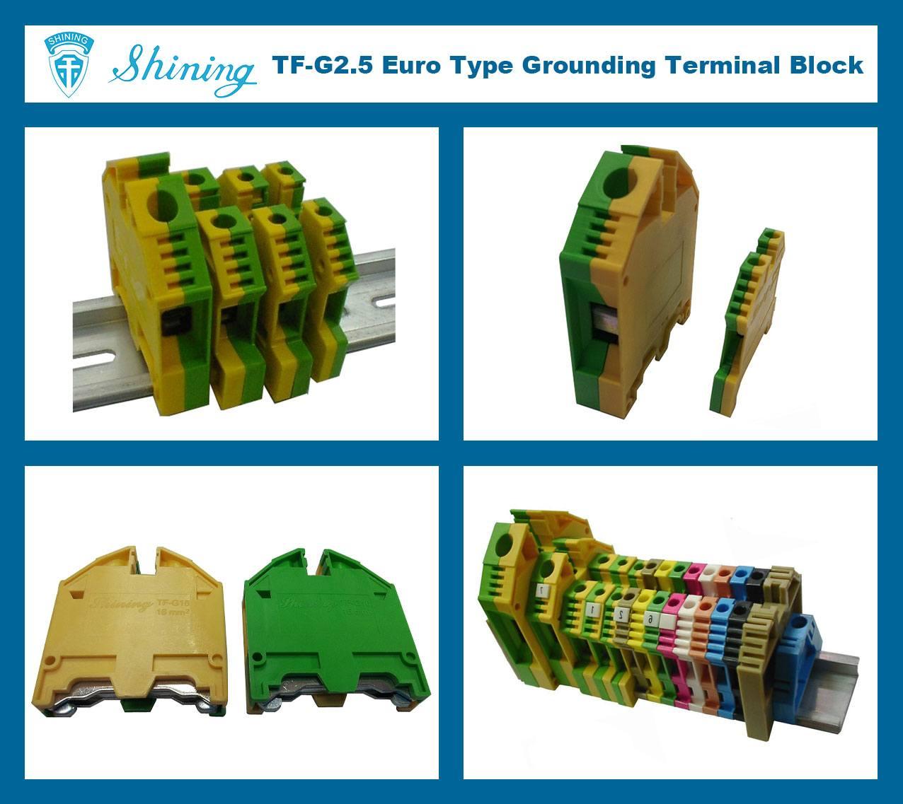 TF-G2.5 Euro Type 2.5mm Ground Earthing Terminal Strip