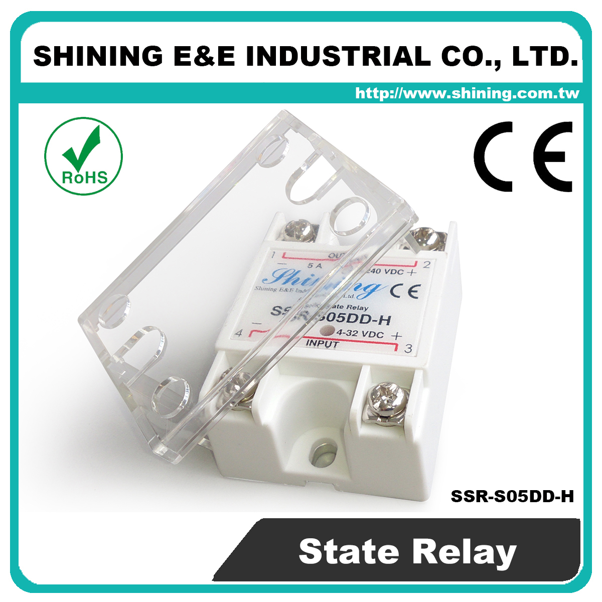 Solid State Relay Taiwan Ssr S05dd H Dc To Single Phase Photocouple