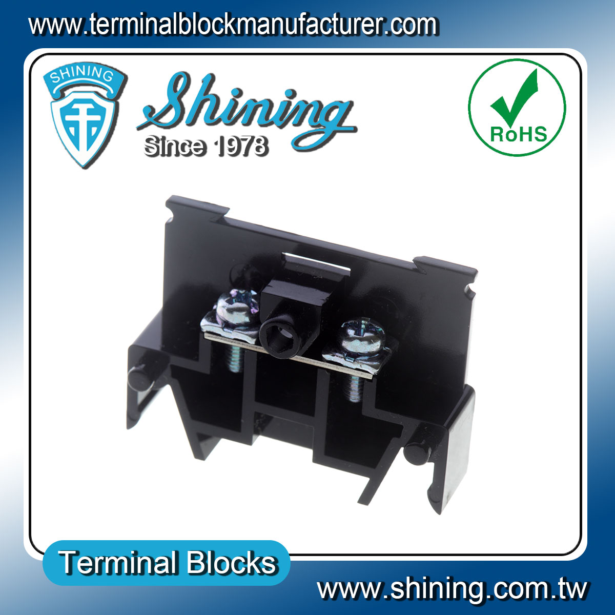 Taiwan Din Rail Type Junction Box 35mm 600v 10a Connector Terminal Wiring Block