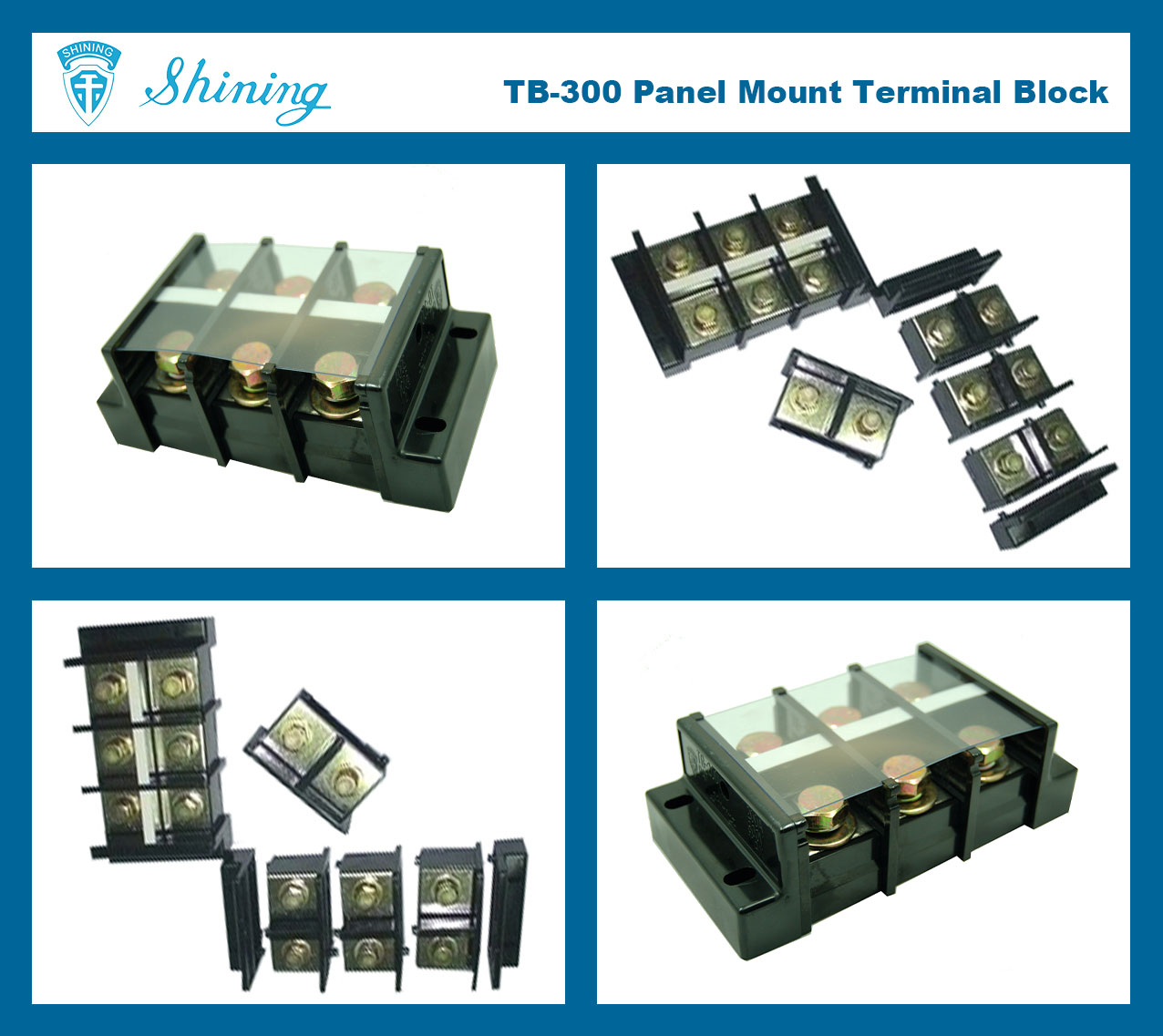TB-300-Cable-Connector-600V-60A-Barrier-Assembly-Terminal%20Block-Multi-Photo