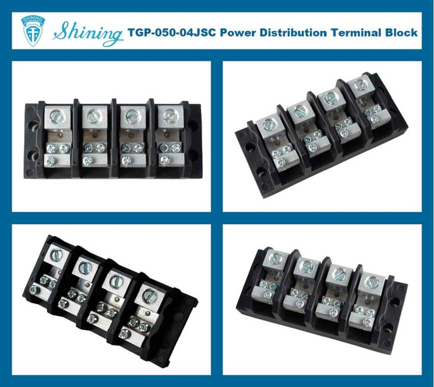 6 Pin Terminal Block Škoda 1j0973713: Shining E&E TGP-050-04JSC 600V 50A 4 Pin Power