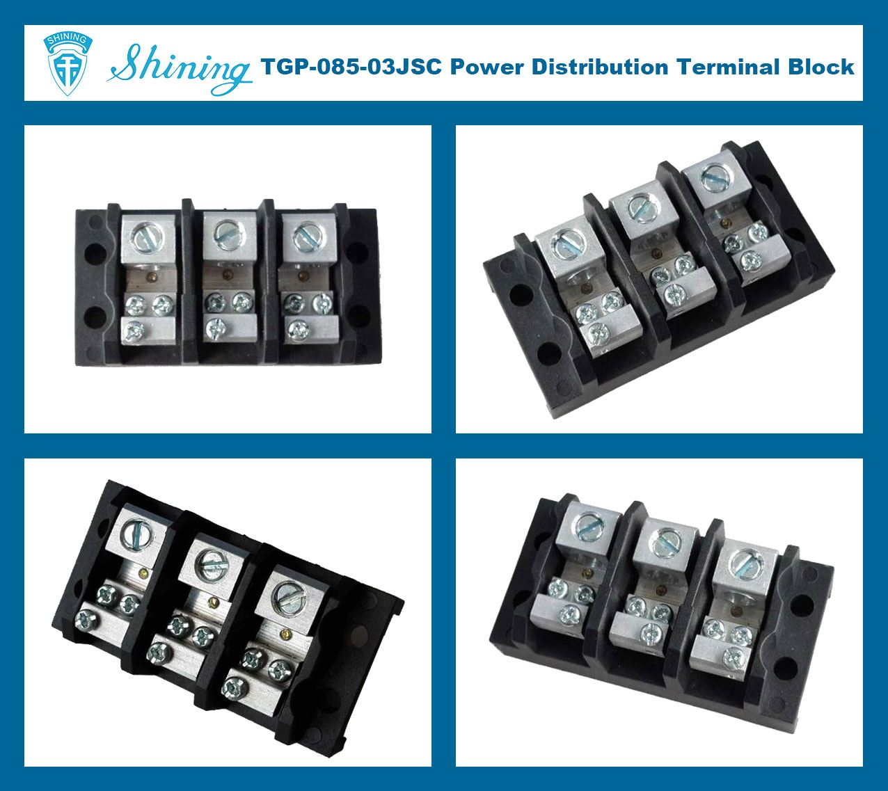 Power Terminal Block : Shining e tgp jsc v a pin power