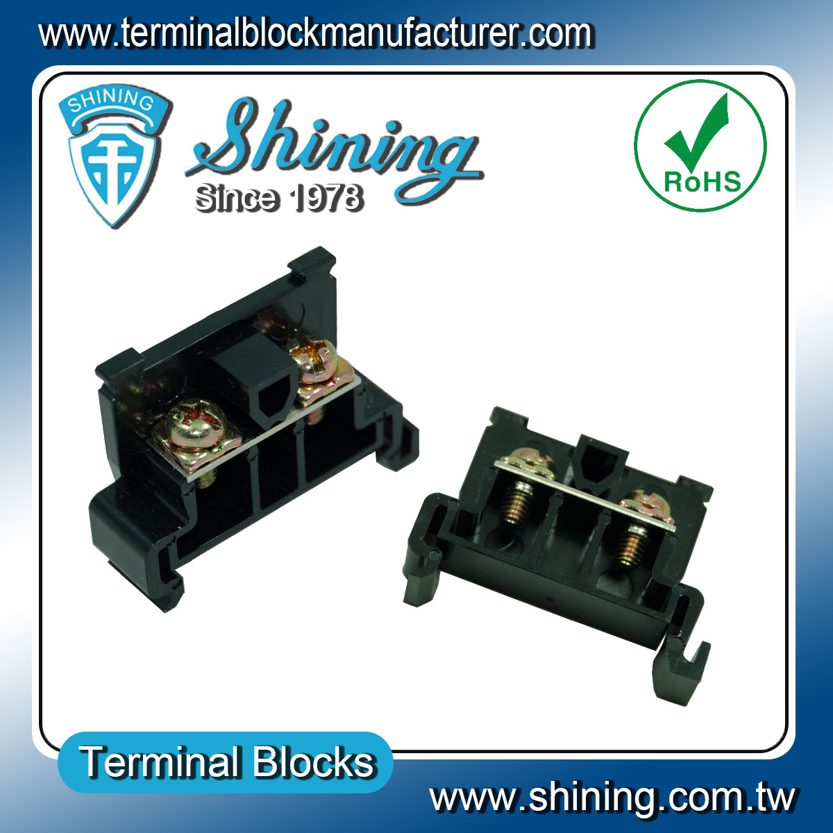 Taiwan Rail Mounted 600v 20a Tend Type Quick Connect Terminal Block Wiring Connectors