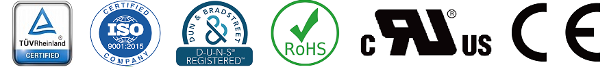 Shining is ISO9001:2015,RoHS, UL, CE approved company
